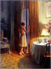 Wall sticker  The Late Arrival - Delphin Enjolras