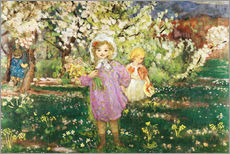 Wall sticker  Children in an Orchard in Blossom - Henri Lebasque