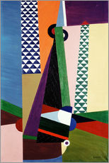 Gallery print  Composition geometry - Georges Valmier