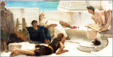 Gallery Print  A reading from Homer - Lawrence Alma-Tadema