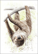 Wall sticker  sloth - Nadine Conrad