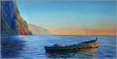 Jonathan Guy-Gladding - base of petit piton with gommier boat