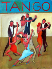 Gallery print  The Tango Performance - Diego Manuel Rodriguez