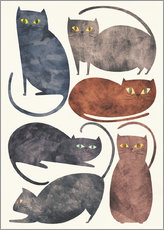 Gallery print  Cats - Tracie Andrews