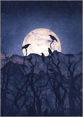 Wall sticker  Midnight Chorus - Tracie Andrews
