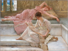 Gallery print  A favourite poet. - Lawrence Alma-Tadema