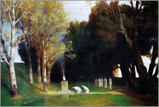 Wall sticker  The Sacred Grove - Arnold Böcklin
