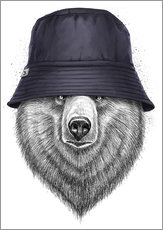 Wall Stickers Bear in hat