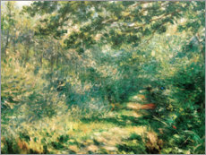 Gallery print  Forest path - Pierre-Auguste Renoir