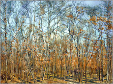 Wall sticker  The beech forest - Ferdinand Hodler