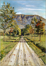 Wall sticker  Road to Evordes - Ferdinand Hodler