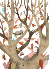 Gallery print  In the Tree No 2 - Judith Loske