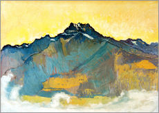 Wall sticker  Dents du Midi - Ferdinand Hodler