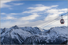 Gallery print  Ski Resorts in the winter - Mike Clegg Photography