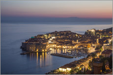 Gallery Print  Dubrovnik at Sunset - Mike Clegg Photography