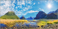Gallery print  Milford Sound New Zealand - Michael Rucker