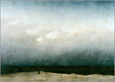 Gallery print  Monk by the Sea - Caspar David Friedrich