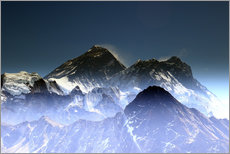 Gallery print  Everest summit - Gerhard Albicker
