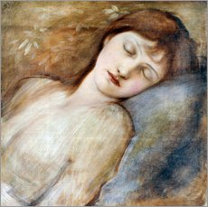 Wall sticker  Sleeping Princess - Edward Burne-Jones