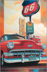 Gallery Print  Route 66 Cafe - Georg Huber