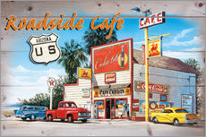 Gallery Print  Arizona Roadside Cafe - Georg Huber
