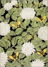 Wall Stickers  Japanese floral design - French School