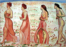 Gallery print  The Sensation - Ferdinand Hodler