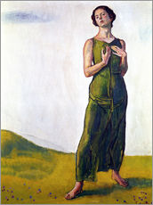 Gallery print  Song from afar - Ferdinand Hodler