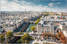 Gallery print  View over Paris, from Notre-Dame - Sascha Kilmer