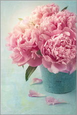 Wall sticker Peonies