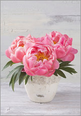 Wall sticker Peony flowers
