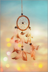 Gallery print  Dream catcher and abstract bokeh background - Elena Schweitzer