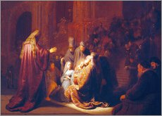 Rembrandt van Rijn - Simeon in the Temple