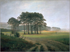 Wall sticker  The Midday - Caspar David Friedrich