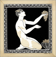 Gallery print  Nijinsky as a faun in the ballet - Georges Barbier