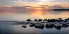 Wall sticker  Sunset at Chiemsee - landscape - Sebastian Jakob