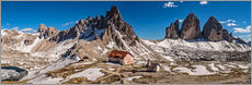 Wall Sticker  Spring panorama Three peaks - Achim Thomae