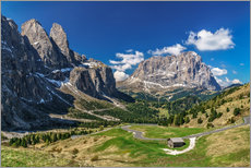 Wall Sticker  Dolomite panorama - Achim Thomae