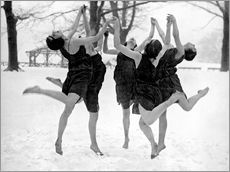 Wall sticker Barefoot Dance In The Snow