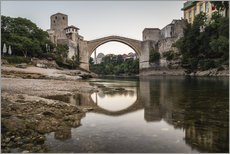 Gallery print  Stari Most Bosnia in the morning - Mike Clegg Photography