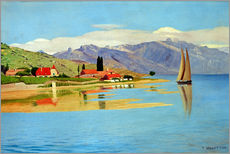 Wall sticker  The port of Pully - Felix Edouard Vallotton