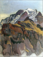 Wall sticker  Jungfrau from Mürren - Ferdinand Hodler