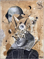 Gallery print  Shakespeare as an abstract concept - Loui Jover