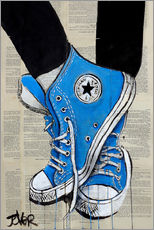 Wall Sticker  the blues - Loui Jover