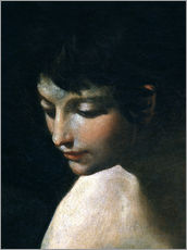 Wall sticker  Heavenly and earthly love (detail) - Guido Reni