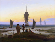 Acrylic print  Stages of life - Caspar David Friedrich