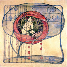 Gallery print  Study on the mind III - Frances Macdonald McNair