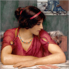 Wall Stickers  The Letter - John William Godward