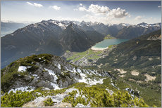 Wall sticker  View of the Achensee from Ebnerjoch - Markus Kapferer