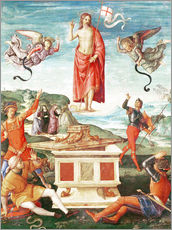 Gallery Print  The Resurrection o.Christ - Raffael